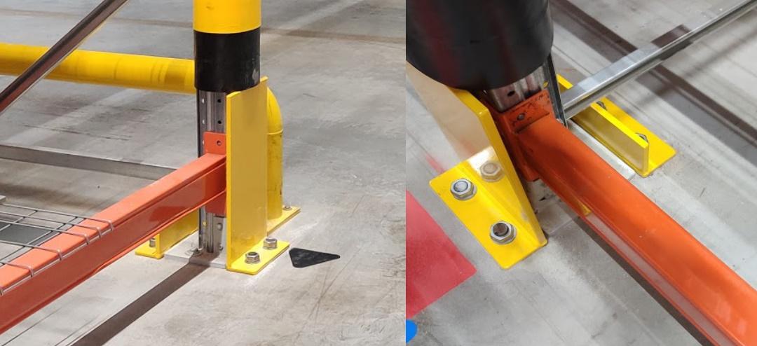 Stellingbeschermer staal heavy duty